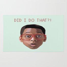 Steven Urkel : DID I DO THAT? Rug