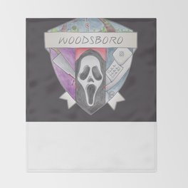 Woodsboro Crest Throw Blanket