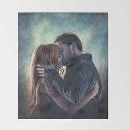 Clary & Jace Throw Blanket