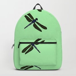 Battimamzelle Design - Mint Green Backpack