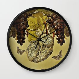 Nor Time, Nor Wine. Wall Clock