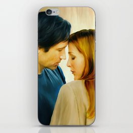I Want to Believe painting iPhone Skin