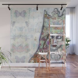 Butterfly Crown by Jane Davenport Wall Mural