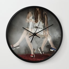 Alice, we're All mad Here Wall Clock