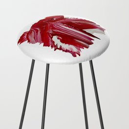 Lady in red Counter Stool