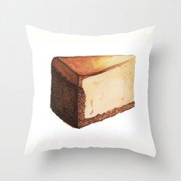 Cheesecake Slice Throw Pillow
