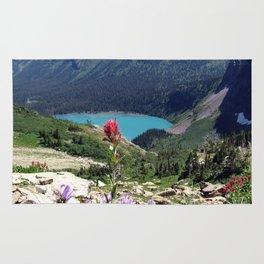 Glacier National Park Rug