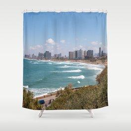 Tel-Aviv Shower Curtain
