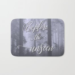 Explore the unseen mystic misty woods adventure Bath Mat