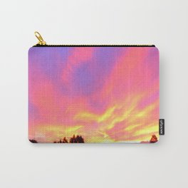 sunset in new zealand  Carry-All Pouch