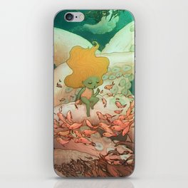 Listen To Me And I'll Tell You A Story iPhone Skin