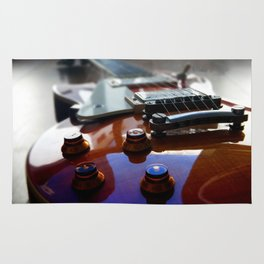 Guitar rock music epiphone Rug