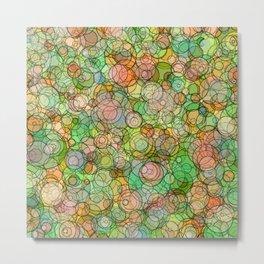 Bubble Culture Metal Print