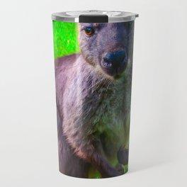 Tough guy Kangaroo Travel Mug