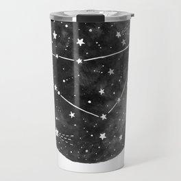 Capricorn Constellation Travel Mug