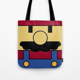 Minimal Mario Tote Bag