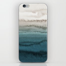 WITHIN THE TIDES - CRASHING WAVES TEAL iPhone Skin