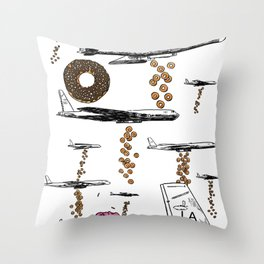 Payload Throw Pillow