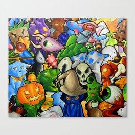 All terraria's pets Canvas Print
