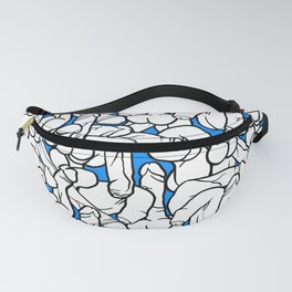 Schlong Song in Blue, All the Penis! Fanny Pack