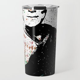 Dalai Lama-Watercolor Travel Mug