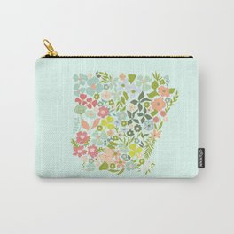 Arkansas Florals Carry-All Pouch