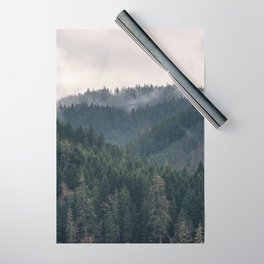 Pacific Northwest Forest - Nature Photography Wrapping Paper