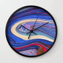 liquify 8 Wall Clock