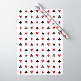 Playing cards pattern Wrapping Paper