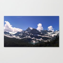 A Trail in Many Glacier Canvas Print