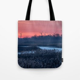Long Point Sunsets Tote Bag