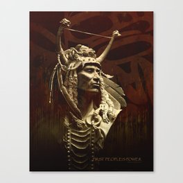 First peoples Power Canvas Print
