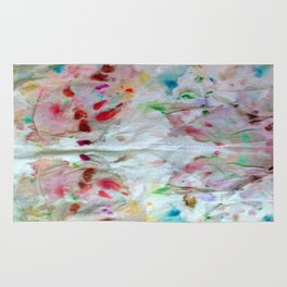 Rainbow Abstract T1 Rug
