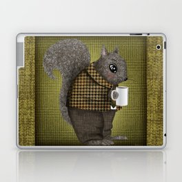 An Early Morning For Mister Squirrel Laptop & iPad Skin