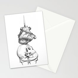 Love, Death and War Stationery Cards