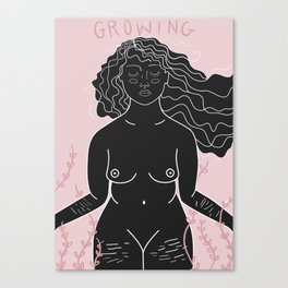 i am growing Canvas Print
