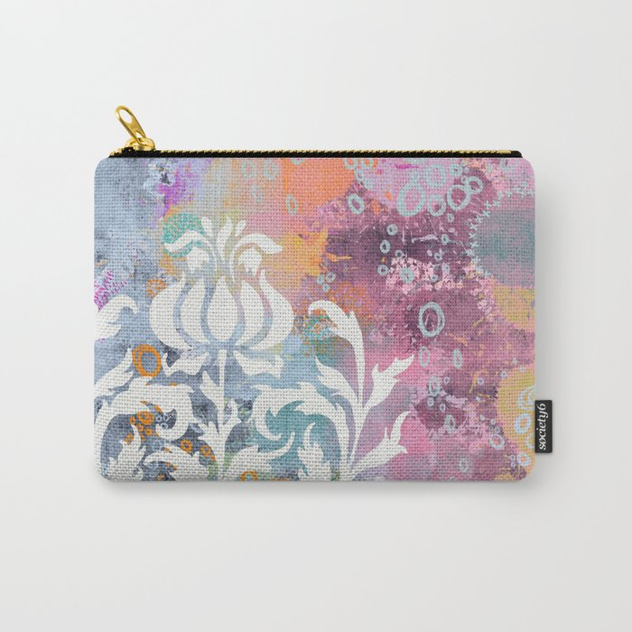 strange fruit - abstract painting Carry-All Pouch