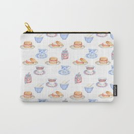 British Cream Tea Pattern Carry-All Pouch