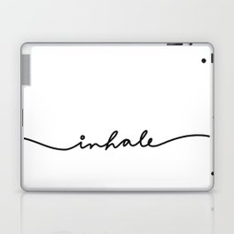 inhale Laptop & iPad Skin