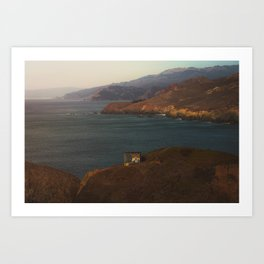 Lookout Spot Art Print
