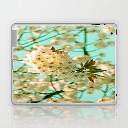 White Spring Love Laptop & iPad Skin