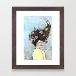 Awake Asleep Framed Art Print