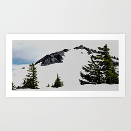 Crater Lake Watchman Overlook Art Print