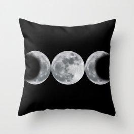 Triple Goddess Throw Pillow