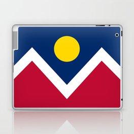 Denver, Colorado city flag - Authentic High Quality Laptop & iPad Skin
