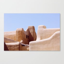 Colors of Santa Fe Canvas Print