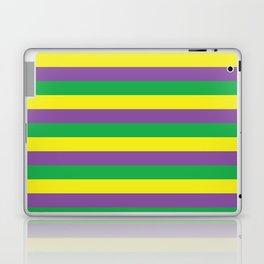 Mardi Gras Stripes Laptop & iPad Skin