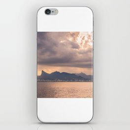 Heavens Burst over Christ the Redeemer iPhone Skin