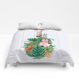 Tropical Ukulele Comforters