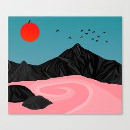 Flight//Delight Canvas Print